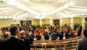 Prima riunione del Consiglio Regionale del Piemonte